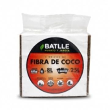 Tierras Y Sustratos - Sustratos Vegetales - Fibra De Coco Brick 5kg