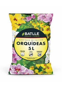 Tierras Y Sustratos - Sustratos Vegetales - Sustrato Orquideas 5l Batlle