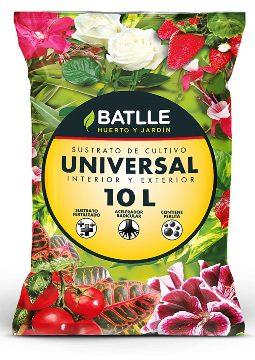 Tierras Y Sustratos - Sustratos Vegetales - Sustrato Universal 10l Batlle