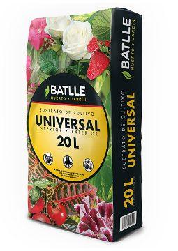 Tierras Y Sustratos - Sustratos Vegetales - Sustrato Universal 20l Batlle