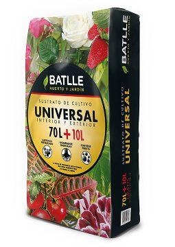 Tierras Y Sustratos - Sustratos Vegetales - Sustrato Universal 70 + 10l Batlle
