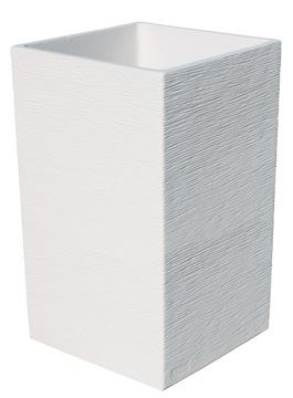 Macetas Y Jardineras - Macetas Piedra - Maceta  Aspel Blanca 40x40x70cm