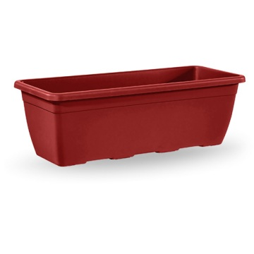 Macetas Y Jardineras - Todas - Jardinera Plastico Naxos Roja