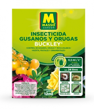 Abonos Y Fitosanitarios - Insecticidas - Insecticida Gusanos Y Orugas 12ml