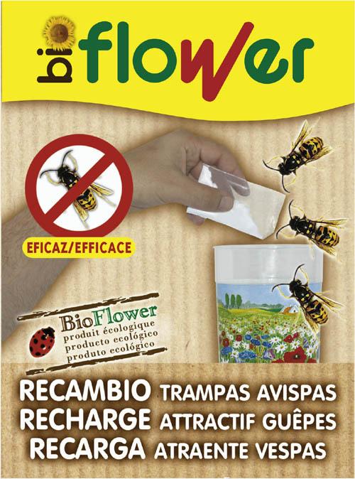 Abonos Y Fitosanitarios  Ecologicos - Insecticidas Ecologicos - Recambio Trampa Avispas Ecofin