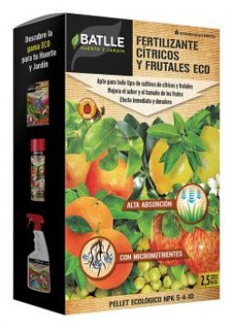Productos Ecologicos - Abonos Ecologicos - Fertilizante Citricos Y Frutales Ecologico 2,5kg