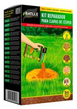 Tepes - Todas - Kit Reparador Para Calvas Del Cesped 1kg