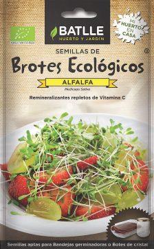 Semillas Ecologicas - Semillas Brotes Ecologicos - Semillas Ecologicas Brotes Alfalfa 21gr
