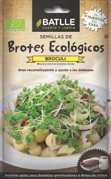 Semillas Ecologicas - Semillas Brotes Ecologicos - Semillas Ecologicas Brotes Broculi 6gr