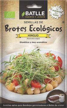Semillas Ecologicas - Semillas Brotes Ecologicos - Semillas Ecologicas Brotes Hinojo 10gr