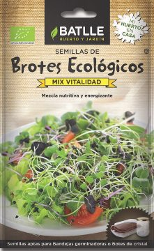 Semillas Ecologicas - Semillas Brotes Ecologicos - Semillas Ecologicas Brotes Mix Vitalidad 15gr
