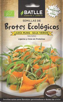 Semillas Ecologicas - Semillas Brotes Ecologicos - Semillas Ecologicas Brotes Soja Verde Judia Mung 3