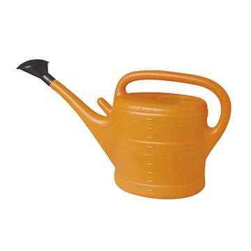 Herramientas Jardineria - Todas - Regadera De Plastico 10lt Naranja