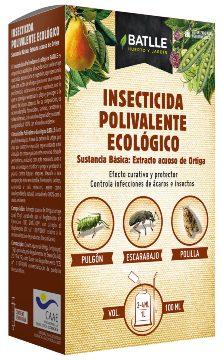 Productos Ecologicos - Insecticidas Ecologicos - Insecticida Polivalente Eco Ortiga 100ml