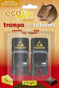 Abonos Y Fitosanitarios  Ecologicos - Insecticidas Ecologicos - Trampa Mecanica Ratones 2uds