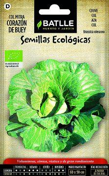 Semillas Ecologicas - Semillas Ecologicas - Semillas Ecologicas Col Corazon De Buey 0.8gr