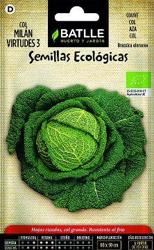 Semillas Ecologicas - Semillas Ecologicas - Semillas Ecologicas Col Milan Virtudes 2gr