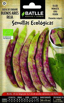Semillas Ecologicas - Semillas Ecologicas - Semillas Ecologicas Judia Enrame Buenos Aires Roja