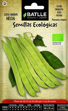 Semillas Ecologicas - Semillas Ecologicas - Semillas Ecologicas Judia Helda 15gr