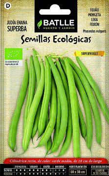 Semillas Ecologicas - Semillas Ecologicas - Semillas Ecologicas Judia Superviolet 15gr