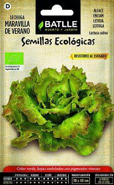 Semillas Ecologicas - Semillas Ecologicas - Semillas Ecologicas Lechuga Maravilla De Verano 1g