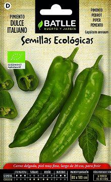 Semillas Ecologicas - Semillas Ecologicas - Semillas Ecologicas Pimiento Dulce Italiano 1gr