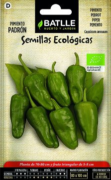 Semillas Ecologicas - Semillas Ecologicas - Semillas Ecologicas Pimiento Padron 1gr