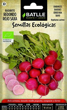 Semillas Ecologicas - Semillas Ecologicas - Semillas Ecologicas Rabanito Redondo Rojo 5gr