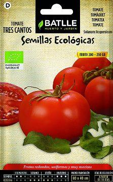 Semillas Ecologicas - Semillas Ecologicas - Semillas Ecologicas Tomate Tres Cantos 0,5gr