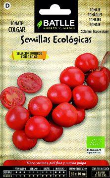 Semillas Ecologicas - Semillas Ecologicas - Semillas Ecologicas Tomate Colgar Domingo 0,5gr