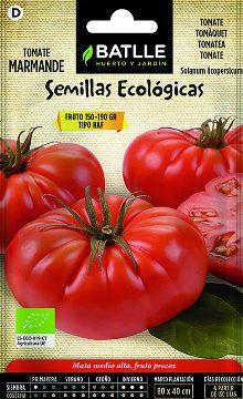 Semillas Ecologicas - Semillas Ecologicas - Semillas Ecologicas Tomate Marmande Raf 0,5gr